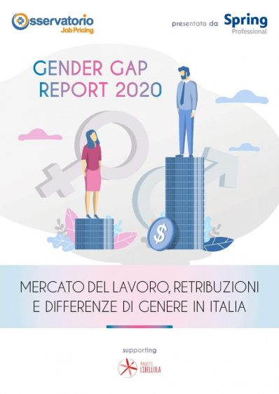 Copertina - Gender Gap Report 2020